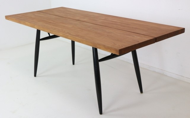 Ilmari Tapiovaara Large Dining Table, Finland, 1955