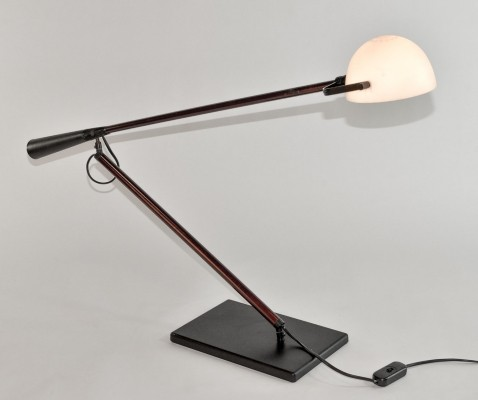 Italian Desk Lamp (Model 613) by Paolo Rizzatto for Arteluce, 1975
