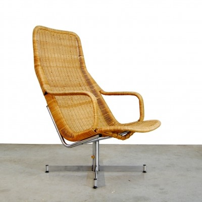 614c arm chair by Dirk van Sliedregt for Gebroeders Jonkers, 1960s