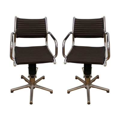 Two swivel (rotating) chairs made in Germany by Olymp, in the 1970s