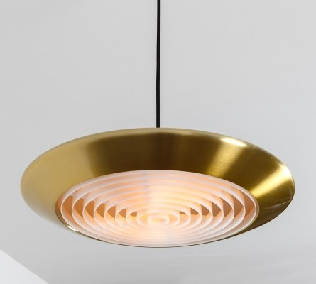 Diskos hanging lamp by Jo Hammerborg for Fog & Mørup, 1960s