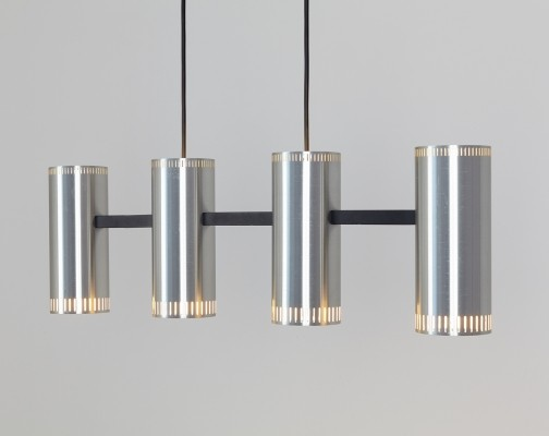 Cylinder IV hanging lamp by Jo Hammerborg for Fog & Mørup, 1960s