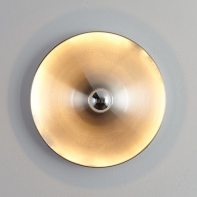 9 x Flush mount wall lamp by Honsel, 1970s