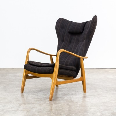 Lounge chair by Acton Schubell & Ib Madsen for Vik & Blindheim, 1950s