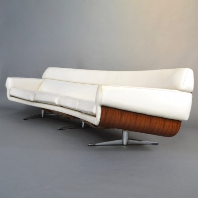 Martin Stoll 4-Seat Curved Sofa, Germany 1960s