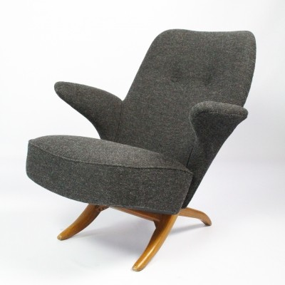 Pinguin lounge chair by Theo Ruth for Artifort, 1950s