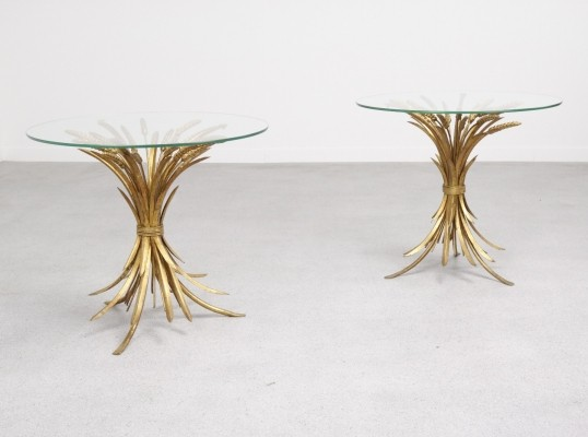 Pair of 'Wheat' side tables by Hans Kögl, 1960s