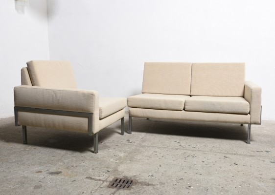 Mid-Century Modern Modular Sectional Sofa by Florence Knoll, 1960s