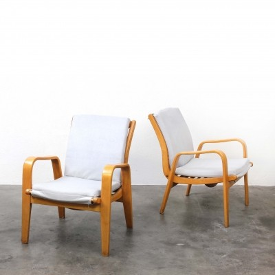 2 x FB06 lounge chair by Cees Braakman for Pastoe, 1950s