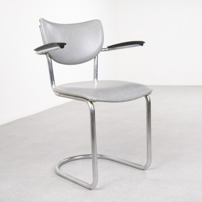 Model 2011 dining chair by Martin de Wit for De Wit, 1950s
