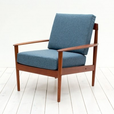 PJ56 arm chair by Grete Jalk for P. Jeppesen Møbelfabrik, 1960s