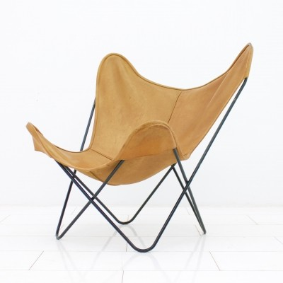 Butterfly lounge chair by Jorge Ferrari Hardoy for Knoll International, 1950s