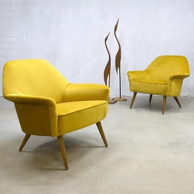 2 x vintage lounge chair, 1950s