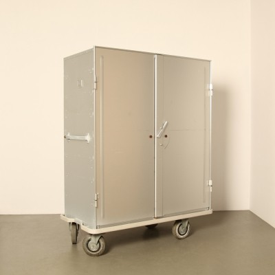 Zarges aluminum Storage & Transport cabinet on wheels