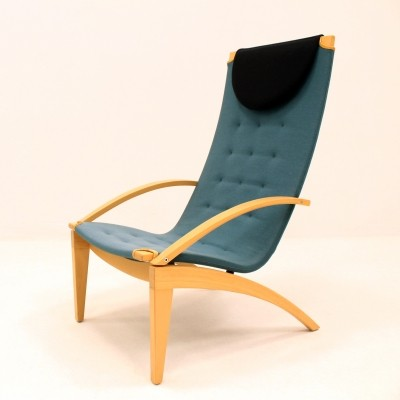 Kornett lounge chair by Lasse Pettersson & Lennart Notman for Swedese, 1990s