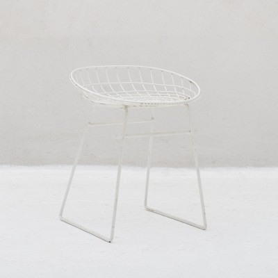 Wire stool by Cees Braakman for Pastoe, Dutch design 1953