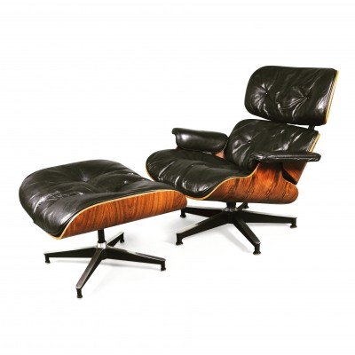 Lounge chair by Charles & Ray Eames for Herman Miller, 1960s