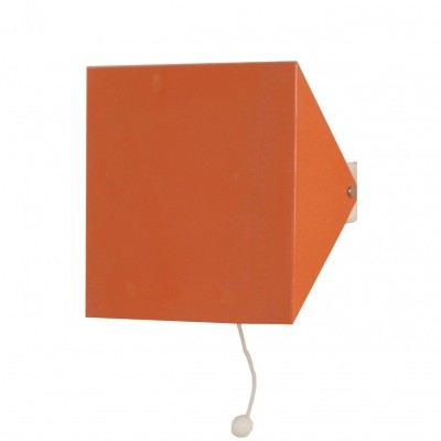 Doria Wall Lamp by Wilhelm Braun Feldweg, 1962 – Salmon Red