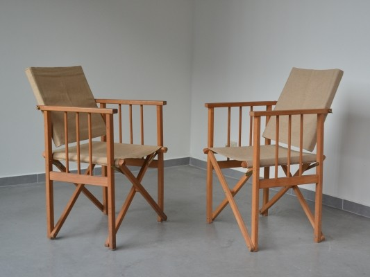 Vintage Folding chairs from Denmark