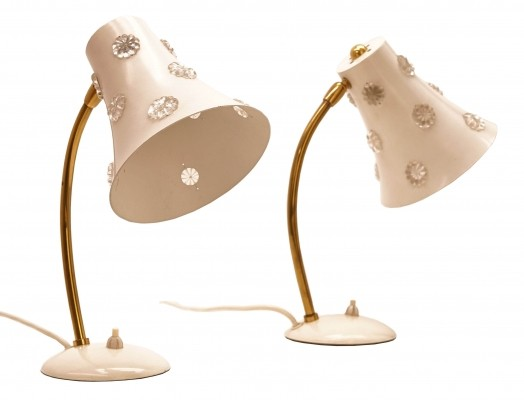 Two Beautiful modernist table Lamps designed in the 1950s by Emil Stejnar