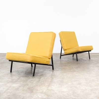Pair of Alf Svensson '013' easy chairs for Artifort / Dux, 1950s