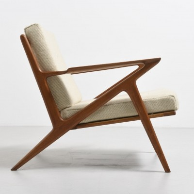 Z arm chair by Poul Jensen for Selig Denmark, 1950s