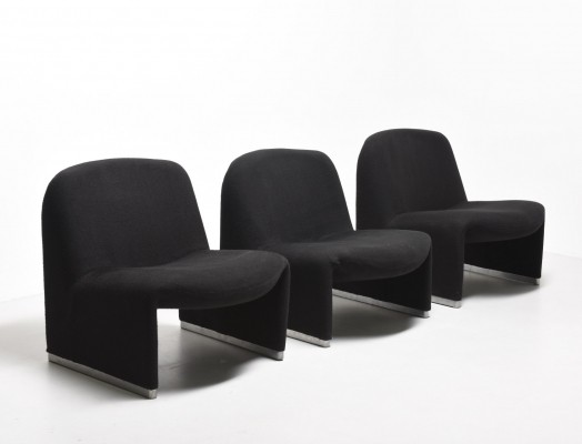6 x Alky lounge chair by Giancarlo Piretti for Castelli, 1960s