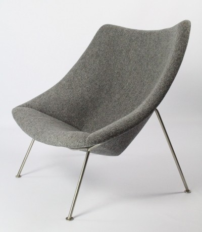 Oyster model F157 lounge chair by Pierre Paulin for Artifort, 1950s