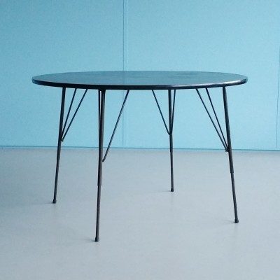 Convertable Dining / Coffee Table by Rudolf Wolf for Elsrijk, 1957