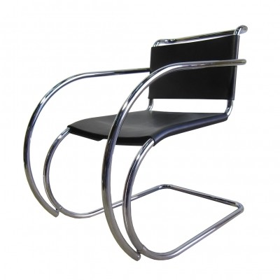 Vintage 'MR' chair by Ludwig Mies van der Rohe for Knoll, 1990s