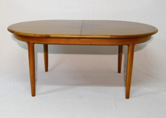 Extendable rosewood table by Jos de Mey for Van Den Berghe Pauvers