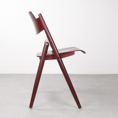 3 x SE18 dinner chair by Egon Eiermann for Wilde und Spieth, 1950s
