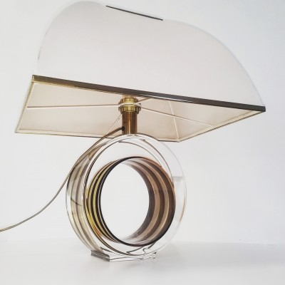 Hollywood regency / glamour table lamp by Smart Roma, 1970s