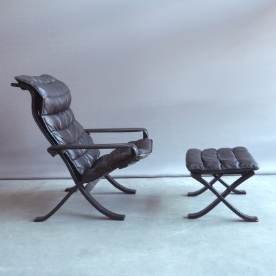 Flex lounge chair by Ingmar Relling for Westnofa, 1970s