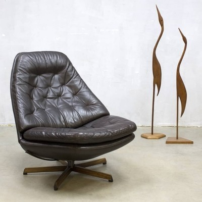 MS68 lounge chair by Acton Schubell & Ib Madsen for Bovenkamp, 1970s