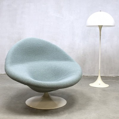 F422 (Globe) lounge chair by Pierre Paulin for Artifort, 1970s