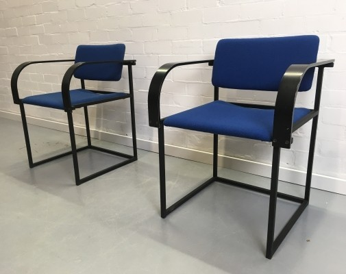 Set of 4 FM80 dinner chairs by Karel Boonzaaijer & Pierre Mazairac for Pastoe, 1980s