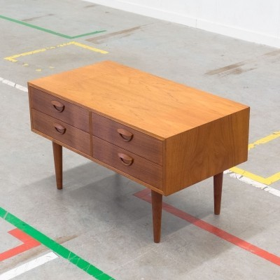 Chest of drawers by Kai Kristiansen for Feldballes Møbelfabrik, 1950s