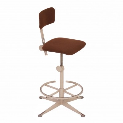 Industrial Working Chair by Friso Kramer for Ahrend de Circle, 1960s – Brown