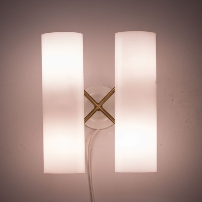 Model 434 wall lamp by Hans Bergström for Ateljé Lyktan, 1950s