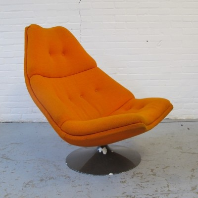 F590 lounge chair by Geoffrey Harcourt for Artifort, 1970s