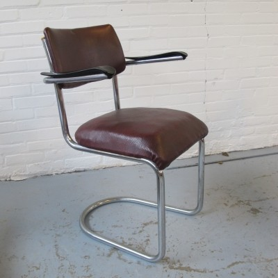 Dinner chair by W. Gispen for Gispen, 1960s