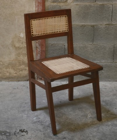 Chair from the Himalayan Hotel by Pierre Jeanneret