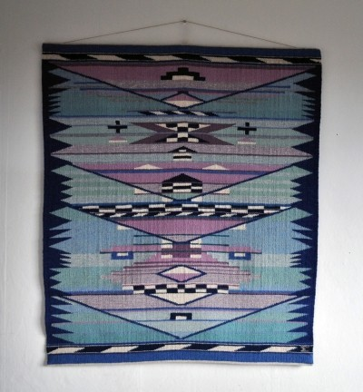 Handwoven Danish tapestry from the 80s