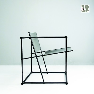 FM 60 Cube lounge chair by Radboud van Beekum for Pastoe, 1980s