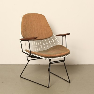 FM06 Wire Lounge Chair by Cees Braakman for Pastoe
