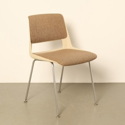 6 x 2210/2220 Stratus dinner chair by André Cordemeyer for Gispen, 1970s