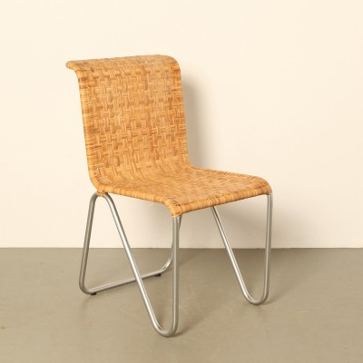 'No. 2a' Diagonal Chair by W. Gispen