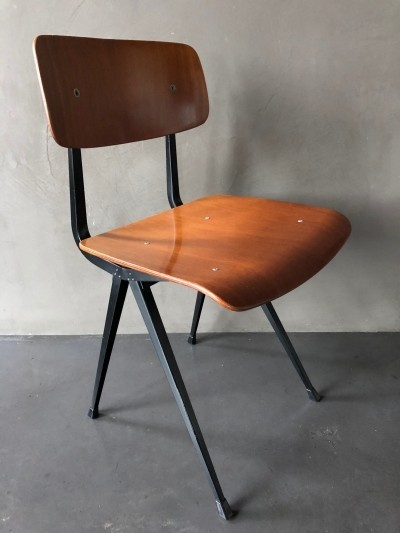 8 x Result 1st edition dinner chair by Friso Kramer for Ahrend de Cirkel, 1960s