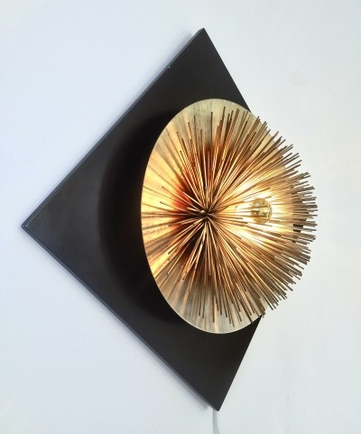 Brass & Metal 'Aurora' Light Sculpture by Otello Ciullini